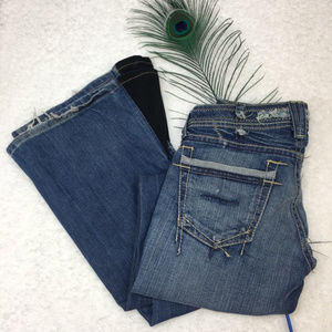 Distressed & Refashioned Visionary Yanuk Jeans